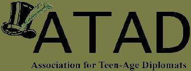 ATAD | Association for Teen-Age Diplomats | Rochester, NY, USA Retina Logo